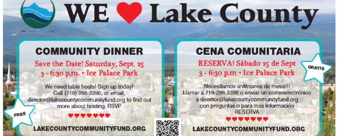 We❤Lake County Community Dinner
