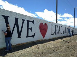 Community members give to Leadville Colorado